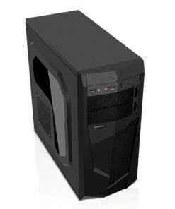 AvP Mamba Mid Tower Black Case with Card Reader