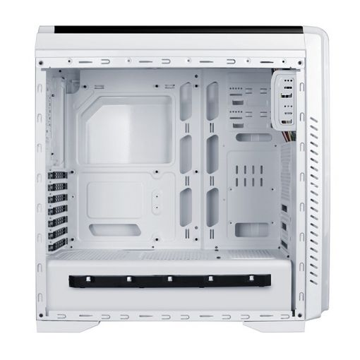 AvP Vision Mid Tower White Case with LED Lighting System