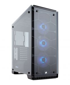 Corsair Crystal 570X RGB Midi Tower Tempered Glass Case - Black (CC-9011098-WW)