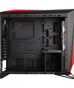 Corsair Carbide Series SPEC-ALPHA Mid-Tower Gaming Case - Black/Red (CC-9011085-WW)