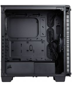 Corsair Crystal 460X Midi Tower Tempered Glass Case - Black (CC-9011099-WW)
