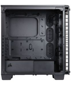 Corsair Crystal 460X RGB Midi Tower Tempered Glass Case - Black (CC-9011101-WW)