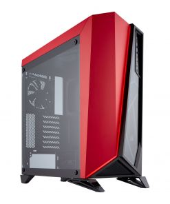 Corsair SPEC-Omega Midi Tower Gaming Case - Red Tempered Glass (CC-9011120-WW)