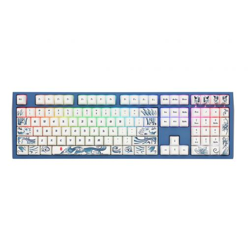 Ducky Year of the Dog Special Edition Mechanical Keyboard Cherry MX Speed Silver