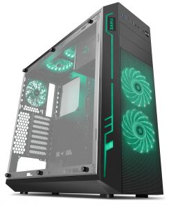 Sama Ark Black Case with RGB Front Top & Rear Fans with Integrated RGB ETA. 27th of June