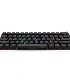 Ducky One2 Mini RGB Backlit USB Mechanical Keyboard Cherry MX Silent Red Switches (UK Layout)