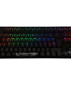 Ducky One2 Mechanical Keyboard TKL RGB USB with Cherry MX Silent Red Switches