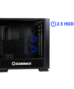 Game Max Muted Windowed Silent Mid Tower PC Gaming Case