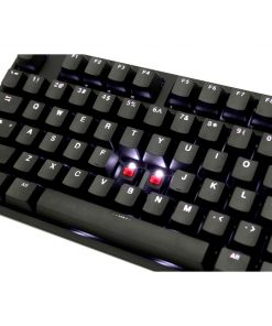 Ducky Channel One 2 Backlit White LED Cherry MX Red Switches (UK Layout)