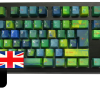 Tai-Hao ABS Double Shot Keycaps Avatar UK with Modifier Kit