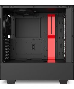NZXT Black/Red H510 Mid Tower Windowed PC Gaming Case