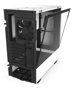 NZXT White H510i Smart Mid Tower Windowed PC Gaming Case