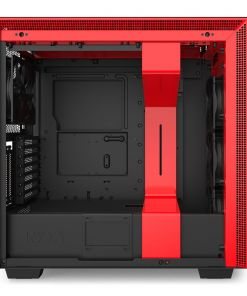 NZXT Black/Red H710i Smart Mid Tower Windowed PC Gaming Case