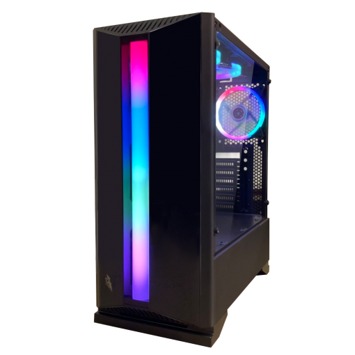1st Player Rainbow R6 Mid Tower Gaming PC Case