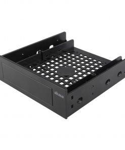 "AK-HDA-05 Mounting adapter for 3.5"" device or 2.5"" SSD/HDD to fit into a 5.25"" PC drive bay"