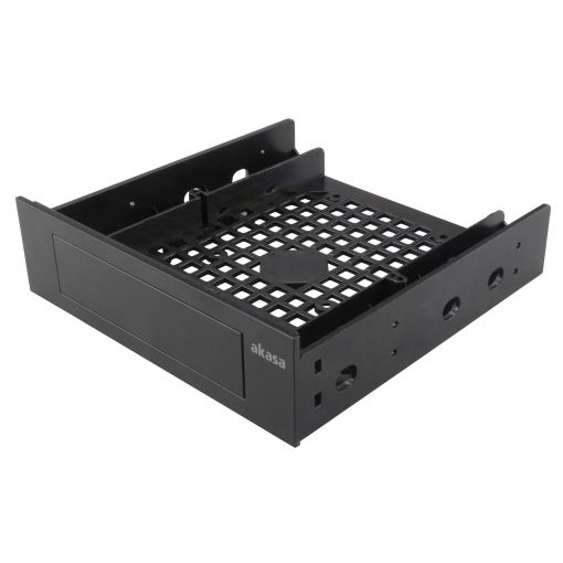 """AK-HDA-05 Mounting adapter for 3.5"""" device or 2.5"""" SSD/HDD to fit into a 5.25"""" PC drive bay"""