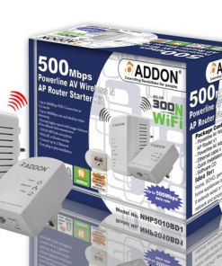 Network Addon HomePlug 500Mbps Wireless Kit