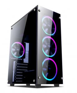 1st Player Fire Dancing V2 Mid Tower Gaming Case