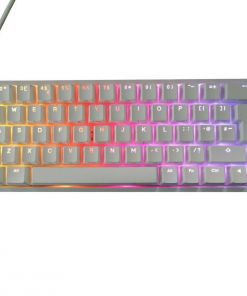 Ducky One 2 SF White Mechanical Keyboard Silver Switch