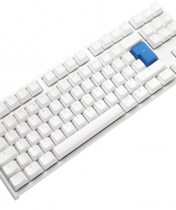 Ducky One2 TKL Pure White RGB Backlit  Silent Red MX Switch