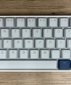 Tai-Hao PBT Backlit Cool Grey/Navy Blue 140 Keycap Set