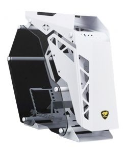 Cougar Conquer White Mid Tower Tempered Glass Gaming Case