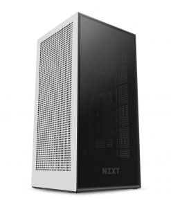 NZXT White H1 Mini-ITX Windowed PC Gaming Case