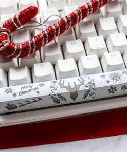 Ducky One 2 Pure White 2020 Christmas Limited Edition Mechanical Keyboard UK Layout