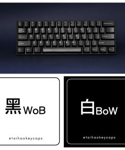 Tai-Hao Cubic ABS WoB Keycaps Set