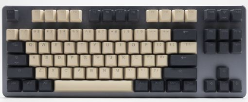 Tai-Hao Cream/Dim Grey PBT 2-Tone Backlit 140 Keycap Set
