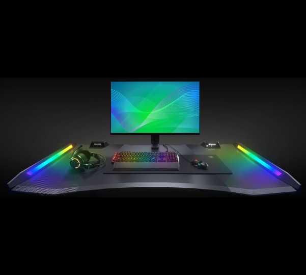 Cougar Gaming Desk with RGB Lighting